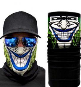 Μπαλακλάβα unisex, μάσκα λαιμού με φιγούρα Murder Smile Clown  - MSC3552 OEM
