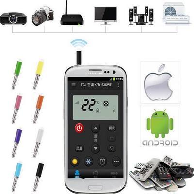 3.5' Jack μετατροπή κινητού σε IR Infrared universal Smart Remote Control  - ISR0402  OEM