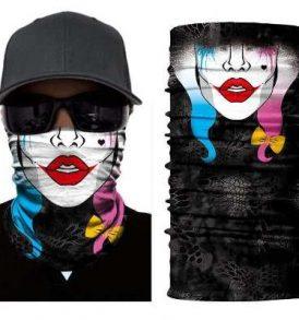 Μπαλακλάβα γυναικεία, μάσκα λαιμού με φιγούρα Clown απο ταινία - HQC2841 OEM