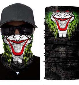 Μπαλακλάβα unisex, μάσκα λαιμού με φιγούρα Killer Smile Clown  - KSC2843 OEM