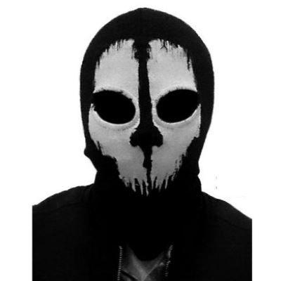 Μπαλακλάβα full face unisex, με φιγούρα Tactical Scary Ghost  - FTSG06 OEM