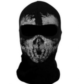 Μπαλακλάβα full face unisex, με φιγούρα Tactical Horror Ghost  - FTHG02 OEM