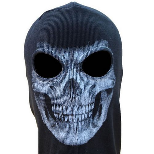 Μπαλακλάβα full face unisex, με φιγούρα  Skeleton Horror Ghost Skull  - SHGS04 OEM