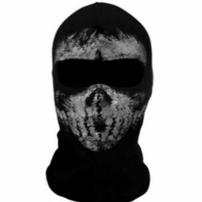 Μπαλακλάβα full face unisex, με φιγούρα Tactical Horror Ghost  - FTHG02 OEM