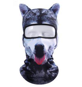 Animal Balaclava Dog, Μπαλακλάβα full face unisex, με φιγούρα σκύλου - ABD02 OEM