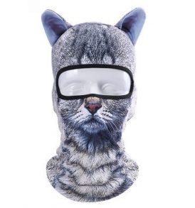 Animal Balaclava Cat, Μπαλακλάβα full face unisex, με φιγούρα γάτας - ABC01 OEM