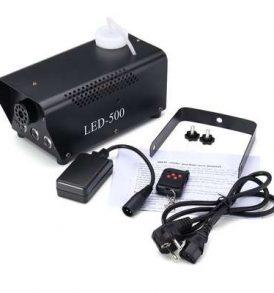 500W Μεταλλική μηχανή καπνού με φωτορυθμικά και ασύρματο χειριστήριο - LED-500 OEM