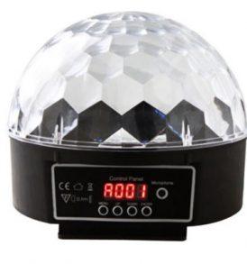 Crystal Ball 30W LED PAR Fixture περιστρεφόμενο φωτορυθμικό - DMX512  OEM