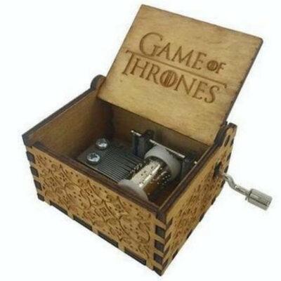 Ξύλινο music box. Μουσικό κουτί με το τραγούδι του GΑΜΕ of THRONES - GOTBOX  OEM