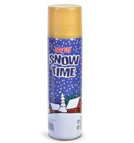 Σπρέι τεχνητού χιονιού για Χριστουγεννιάτικη διακόσμηση - 250ml SNOW TIME