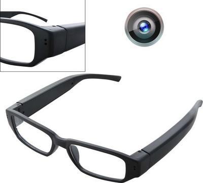 Spy camera, Γυαλιά διάφανα για καταγραφή video με διακριτική κρυφή Κάμερα  - L533A OEM