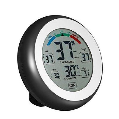 Θερμόμετρο / υγρόμετρο με οθόνη LCD κατάλληλο και για terrarium - CJ3305F OEM