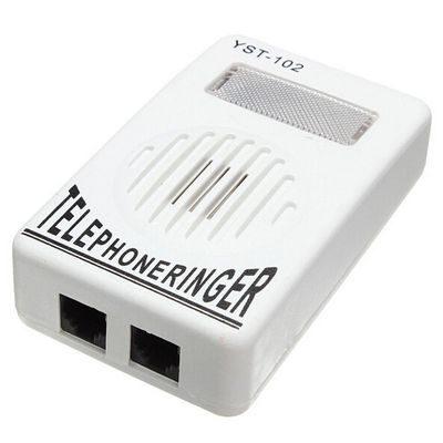 Ενισχυτικό κουδούνι τηλεφώνου έντασης 95db με φως στις εισερχόμενες κλήσεις - YST102  OEM