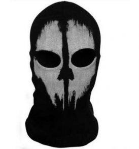 Μπαλακλάβα φάντασμα full face unisex, με φιγούρα Tactical Fear Ghost  - FFTG09 OEM
