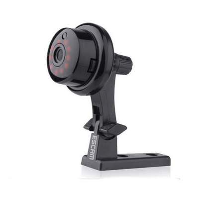 Διακριτική 720p ασύρματη IP Camera baby monitor Spy camera- Button Q6 Mini ESCAM