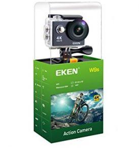 4K HD Action Camera, Wifi, υποβρύχια κάμερα με 2 inc οθόνη με αξεσουαρς – W9s EKEN