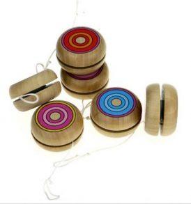 Παιχνίδι γιογιο ξύλινο σε διάφορες αποχρώσεις και παραλαγές - ZR795WOOD OEM