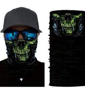 Μπαλακλάβα unisex, μάσκα λαιμού με φιγούρα Toothed Green Monster - TGM40740 OEM