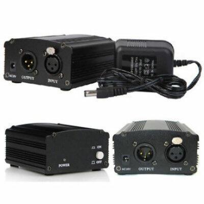 Επαγγελματικό Phantom Power 48V Τροφοδοτικό ενίσχυσης μικροφώνου  - VST600 CYDBLUES