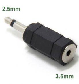 Μετατροπέας αντάπτορας 3.5mm jack female mono/ 2.5mm male mono - ZHB2535 OEM