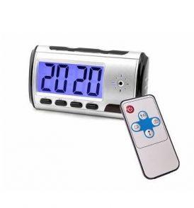 Επιτραπέζιο ψηφιακό ρολόι spy camera με κρυφή κάμερα και τηλεχειριστήριο -  KJ402 OEM