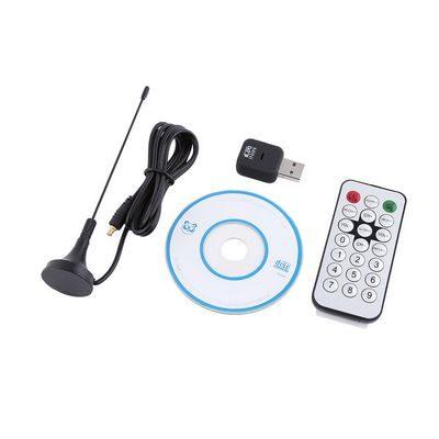Δέκτης για τηλεόραση και ραδιόφωνο σε υπολογιστή Mini Digital TV TUNER USB Stick - OEM