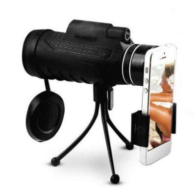 Μονόκυαλο 40X60 αδιάβροχο με holder τηλεφώνου και τρίποδο - MOGE Χ40 OEM