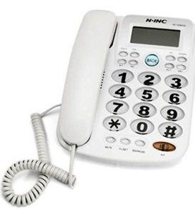 Τηλέφωνο για ηλικιωμένους μεγάλα πλήκτρα Ανοιχτή Aκρόαση - NINC T2040CID OEM