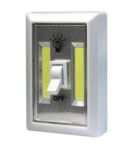 2 Χ COB Led φώτα νύχτας με μπαταρία για ντουλάπες / γκαράζ / κάμπινγκ - 240LM  OEM
