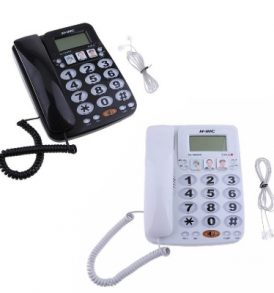 Τηλέφωνο επιτραπέζιο με μεγάλα πλήκτρα για ΑΜΕΑ, ηλικιωμένους NINC T2035CID OEM