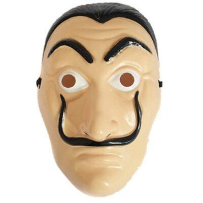 Μάσκα με λάστιχο unisex φιγούρα 25cm με πρόσωπο Νταλί LA CASA DE DALI  72655 OEM