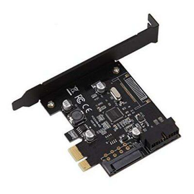 PCI-E Express USB3  card 19 pin Connector & 15-pin SATA Power VER003 PCE2USB-A02