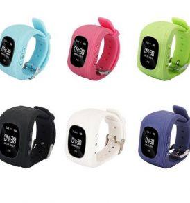 Έξυπνο παιδικό ρολόι εντοπισμού με GPS και activity tracker με πλήκτρο SOS - Q50 OEM