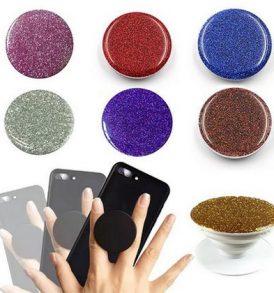 Pop holder glitter για στήριξη και κράτημα του κινητού τηλεφώνου smartphone - GLPH ΟΕΜ