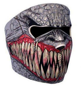 Neopren μάσκα για μοτο / ποδήλατο / σκι κλπ σε σχέδιο Bigtooth Monster - BMM200 OEM