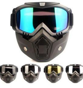 Μάσκα με αποσπόμενα γυαλιά κατάλληλη για snowboard σκι MTB σπορ  - WS620 OEM
