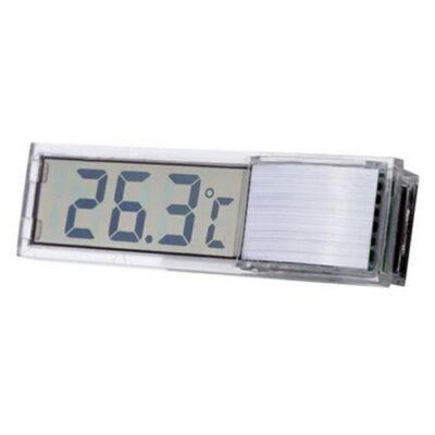 Διάφανο ηλεκτρονικό ψηφιακό αυτοκόλλητο θερμόμετρο ενυδρείου με οθόνη LCD - CX211 OEM
