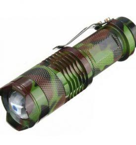 Μεταλλικός φακός με tactical zoom και 3 ρυθμίσεις φωτισμού 2000 LM - MILTQ5  OEM