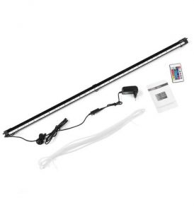 107cm Υποβρύχια LED μπάρα RGB φωτισμού ενυδρείου με φυσαλίδες & κοντρόλ - AQ107 OEM