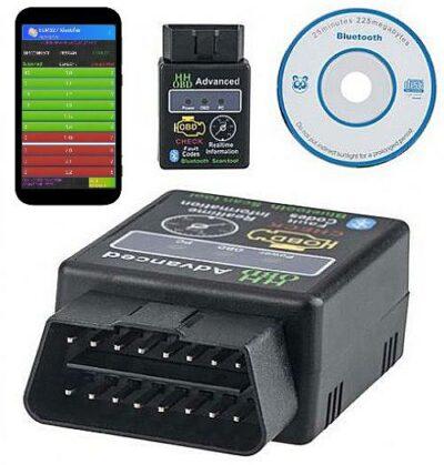Διαγνωστικό εγκεφάλου αυτοκινήτου ασυρματη συνδεση με λάπτοπ και κινητο smartphone τηλέφωνο - ELM32 OEM