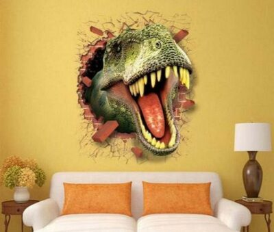 3D Αυτοκόλλητο τοίχου τρισδιάστατο δεινόσαυρος Jurassic Dinosaur - 3DJD5070 OEM