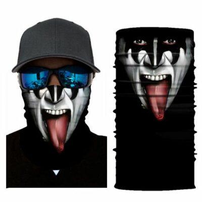 Μπαλακλάβα unisex 3D, μάσκα λαιμού με σχέδιο  Scary Tribal Warrior STB5 OEM