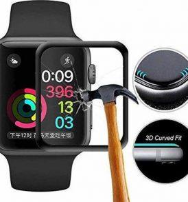 Άθραυστο τζάμι οθόνης για ρολόγια Apple / full Framed Tempered Glass Apple Watch Series 4 (44mm)