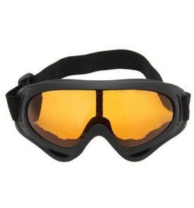 Goggles σπορ γυαλιά μοτοσυκλέτας,ποδηλασίας MTB,σκι,απορροφητικά orange UV - X404