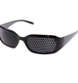 Στενοπικά γυαλιά πλέγματος χωρίς φακούς και με λεπτές τρύπες Pinhole Glasses PHG45 OEM
