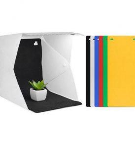 Φωτογραφικό φορητό στούντιο με 6 backgrounds Mini Photo Studio Lightbox - PSB06 ANDOER