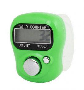 Ηλεκτρονικό Κλίκερ μετρητής χειρός μέτρησης αντικείμενων ατόμων ψήφων κλπ - SXH5 OEM - Πράσινο