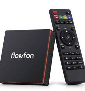 TV Box Android 9 με 6K ανάλυση 32GB χώρο 4GB DDR3 μνήμη 2.4G + 5.8G WiFi - FLOWFON F1