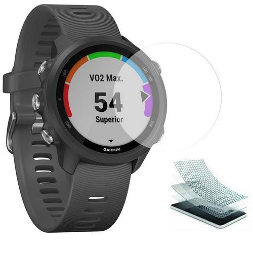 Άθραυστο τζάμι οθόνης για Garmin Forerunner 245 / 245M Tempered Glass Nano Shield