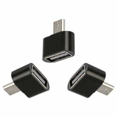 Αντάπτορας microUSB male προς USB female για κινητό / ταμπλετ - BK206 OEM